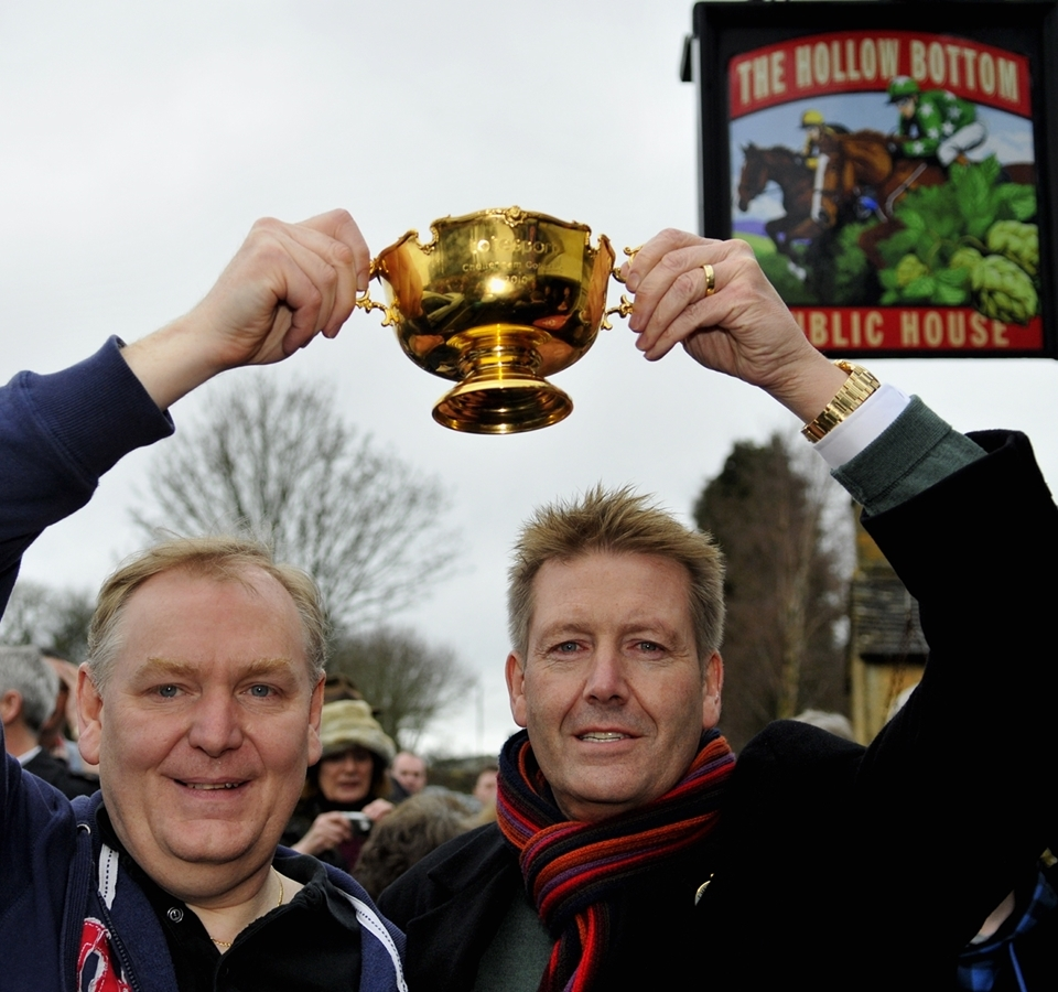 Gold Cup celebrations at the Hollow Bottom